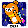 Space Rush - Tappi Bear