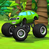 Green Monster Truck Puzzle